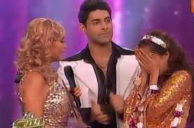 Sebastián Lizarzaburu fue eliminado de El Gran Show - VIDEO