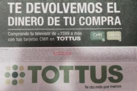 ¿Tiembla Tottus? Cibernautas remecen la web con oferta de supermercado