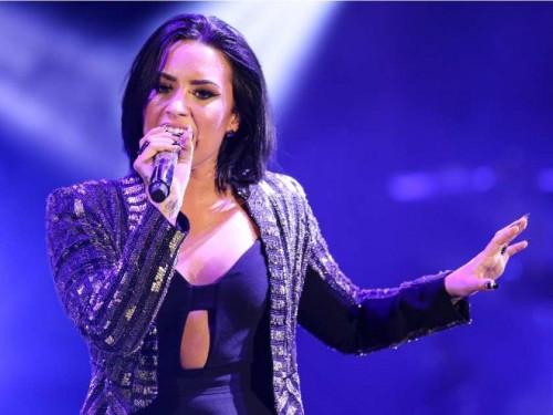 Instagram: Demi Lovato defiende foto de Kim Kardashian desnuda