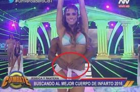 Combate: ¡Pantera Zegarra le quiso quitar 'todo' a Jessica Barrantes - FOTO