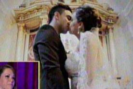 ¿Melissa Klug se casó en secreto con Diego Chávarri?