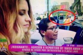 ¿Hermano de Patricio Parodi mandó a agredir a reportero de Peluchín para que no entreviste a Flavia Laos?