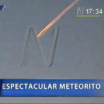 Impactante: Meteorito recorre el cielo de Cusco y sorprende a pobladores (Video)