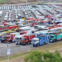 Dakar 2012: Autos fueron presentados en Argentina