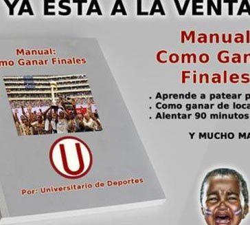 Mira cómo los hinchas de Universitario se burlan de la derrota de Alianza Lima en la final