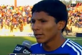 Raúl Ruidíaz debutó con gol en la victoria de la U. de Chile - Video