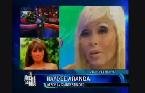 Haydeé Aranda a Maribel Velarde: Lávate la boca antes de hablar de mi madre