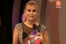 Gisela Valcárcel: OT llegará a ser lo que fue Bailando por un sueño