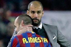 Barcelona: Iniesta sabe que salida de Josep Guardiola los afectará