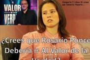 Exigen a Rosario Ponce ir a 'El Valor de la Verdad' a través de memes
