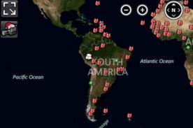 Felices Fiestas: Papá Noel repartió regalos en Perú y visitó Machu Picchu