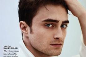 Daniel Radcliffe posó para una revista dedicada a homosexuales