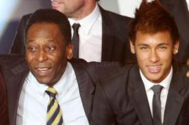 Pelé: 'Neymar se preocupa más por su cabello que de jugar para el equipo'