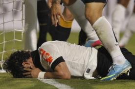 Alexandre Pato: Me empujaron en el gol que fallé