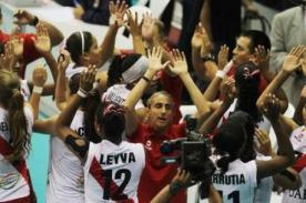 Video: Perú celebró bailando su triunfo ante Serbia - Mundial Voley de Tailandia
