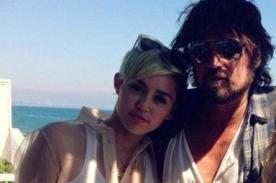 Miley Cyrus irá a terapia con su padre para mejorar la relación entre ellos