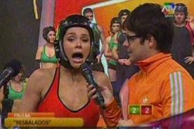 Combate: Paloma Fiuza lanza tremenda lisura en vivo - Video