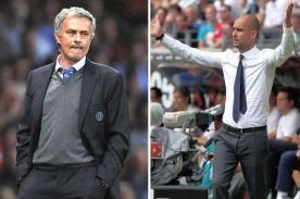 Josep Guardiola: Tengo un gran respeto por la trayectoria de Mourinho