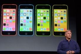 Fotos: Apple presentó los nuevos iPhone 5C y iPhone 5S