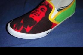 Inspiradoras zapatillas personalizadas con diseño de Bob Marley - VIDEO