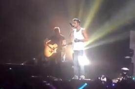 Liam Payne dedica en concierto 'More Than This' a su abuelo fallecido - Video