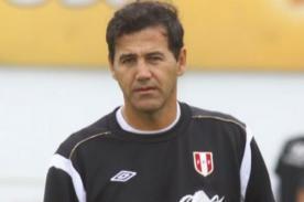 Daniel Ahmed señaló que no es el indicado para la selección peruana