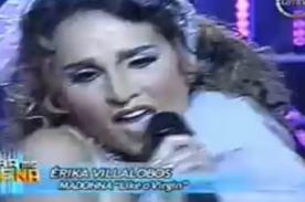 VIDEO: Erika Villalobos recibe elogios por ser Madonna en Tu Cara Me Suena