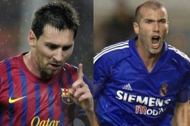 Pelé: Zinedine Zidane fue mejor jugador que Lionel Messi