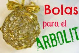 Como hacer paso a pasos hermosas bolas doradas para el árbol de Navidad.