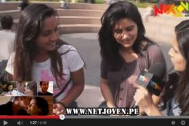 Jóvenes opinan sobre la serie 'Al fondo hay sitio' - VIDEO