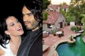 Katy Perry vendió casa donde vivía con Russell Brand