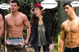 Thalia confiesa que le encanta Taylor Lautner