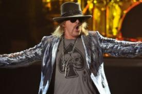 Axl Rose se burló de la presentación de los Red Hot Chili Peppers