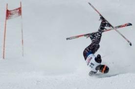 Sochi 2014: Esquiadora rusa sufrió una grave lesión de columna