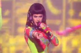 Brit Awards: Katy Perry presentó show inspirado en cultura egipcia (Fotos)