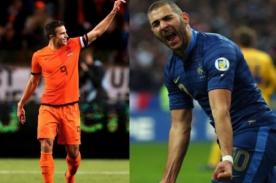Francia vs. Holanda: Transmisión en vivo por DirecTV - Amistoso previo al Mundial 2014