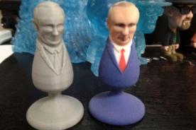Insólito: Crean juguete sexual con la cara del presidente Vladimir Putin