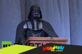 Conoce al candidato para la presidencia de Ucrania: Darth Vader - VIDEO