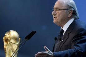 Joseph Blatter: Uruguay jugará en el Mundial Brasil 2014