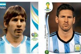 Mira cómo ha cambiado Lionel Messi con el pasar de los mundiales-FOTOS