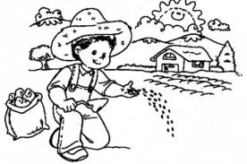 Bellos dibujos del campesino ¡Únete y celebra el Día del campesino! - 24 de junio