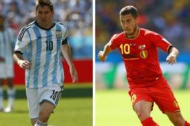 En vivo por Internet: Argentina vs Bélgica minuto a minuto - Mundial Brasil 2014
