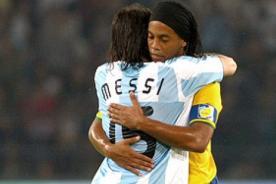 Ronaldinho Gaucho y el mensaje para Messi tras la final del Mundial 2014