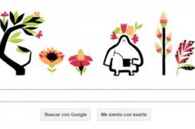 Primer día de primavera: Google celebra el fin del invierno