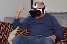 Así reaccionaría tu abuelito al ver porno en realidad virtual [VIDEO]