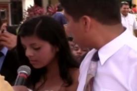 San Valentín: Hombre pasó el 'roche' de su vida en su boda [VIDEO]
