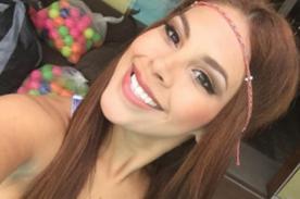 Stephanie Valenzuela sufre descuido bailando el 'Toto' - VIDEO