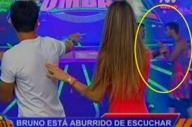 Combate: ¡Bruno Rocha y Eduardo Pastrana se fueron a los golpes en vivo! - VIDEO