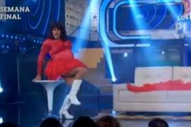 Mariano Sábato sorprendió bailando como Monique Pardo - Video