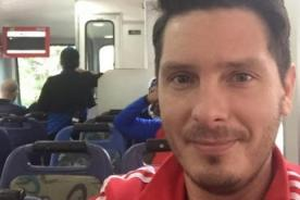 Cristian Rivero se rinde ante curvas de brasileña - FOTO